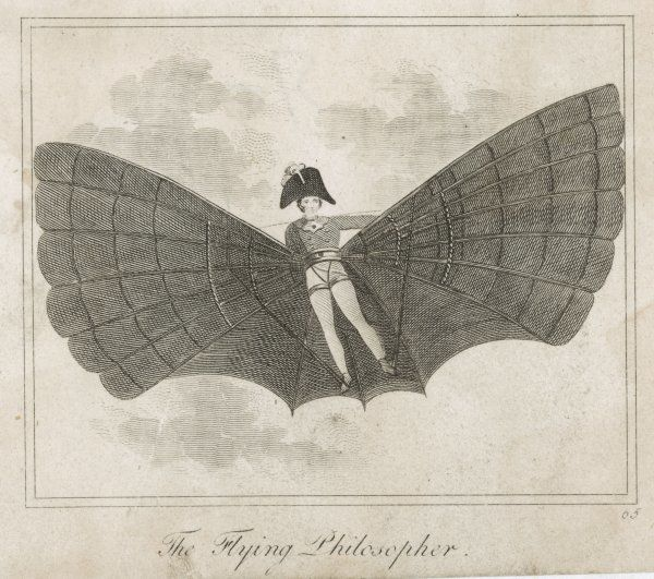 'THE FLYING MAN' a proposal from the Napoleonic era