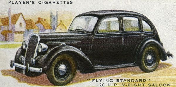 An unobtrusive family saloon, this is the Flying Standard 20-hp V-eight. Date: 1937