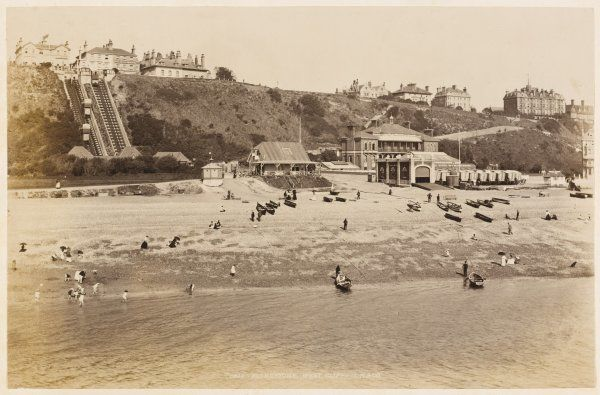 Folkestone, Kent: West Cliff