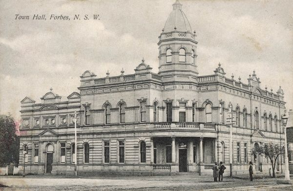 The Town Hall, Forbes, New South Wales, Australia