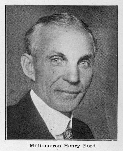 HENRY FORD - American automobile manufacturer