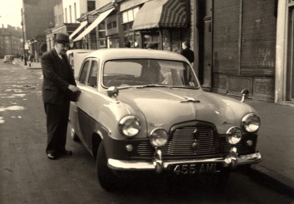 Gentleman and his Ford Zephyr Zodiac Mk 2