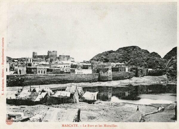 Fort Jalali and city walls, Muscat, Oman