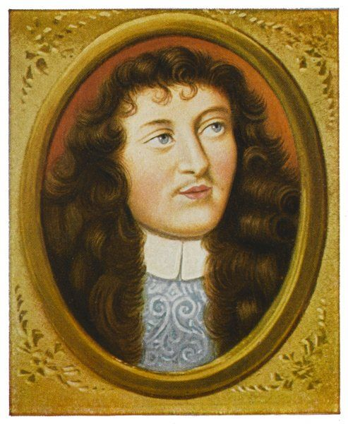 NICOLAS FOUQUET - French statesman and agent for Cardinal Mazarin (also spelt Foucquet)