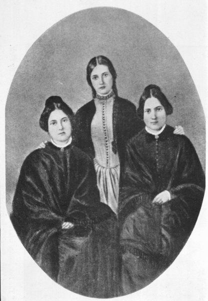 THE FOX SISTERS Margaretta, Kate and Leah pioneer spiritualists