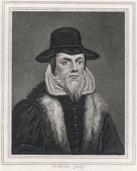 JOHN FOXE - English martyrologist and priest