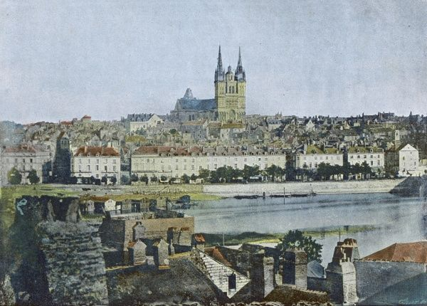 Angers: general view