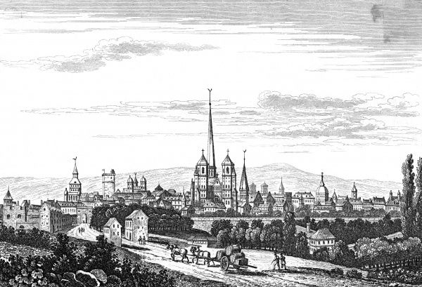 General view of the city Date: 1835