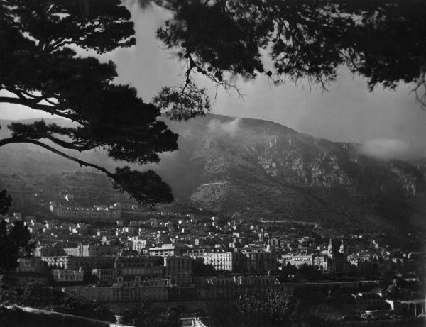 A fine overview of Monte Carlo, Monaco, France. Date: 1930s