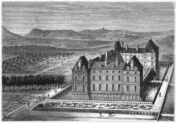 The chateau de Rosny was built by the duc de Sully, minister of Henri IV, circa 1600