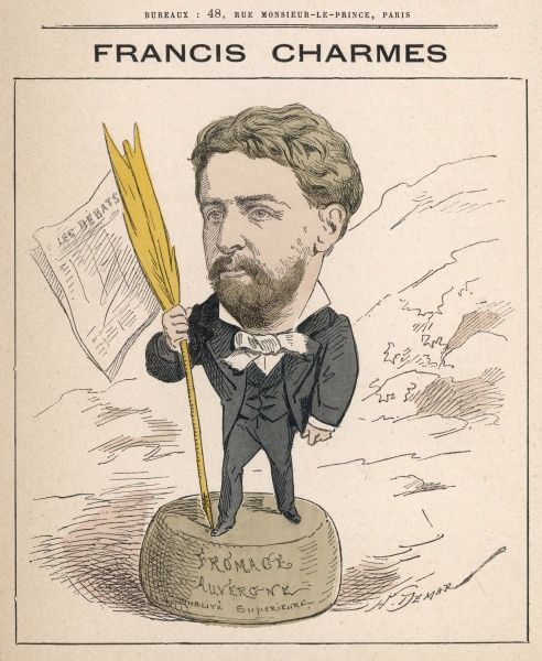 Francis Charmes (1848-1916) French journalist, diplomat, civil servant, politician and academician