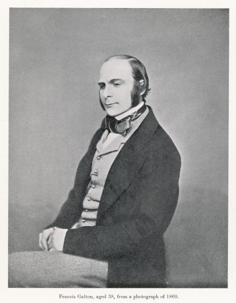 FRANCIS GALTON Scientist - at age 38