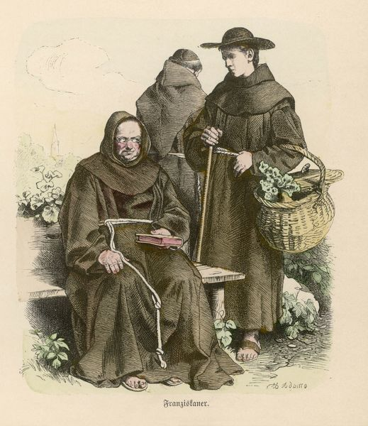 MONKS OF THE ORDER OF SAINT FRANCIS OF ASSISI (FRANCISCANS)