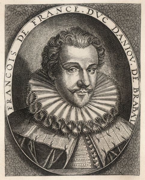 FRANCOIS de VALOIS, DUC D'aLENCON ET D'aNJOU French soldier and administrator, governor of the Netherlands