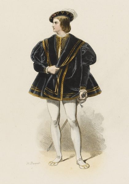 FRANCOIS, Dauphin de Viennois, eldest son of Francois I and Claude his first wife : died aged 19