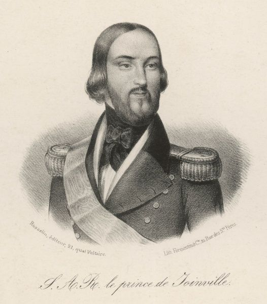 FRANCOIS-FERDINAND-PHILIPPE prince de JOINVILLE third son of Louis Philippe, naval officer