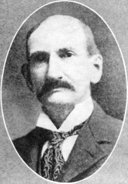 Member of the notorious James-Younger gang, Frank James, brother of Jesse James