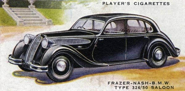 Frazer-Nash - BMW TYPE - 326/50 Saloon, a low-cost family car. Date: 1937
