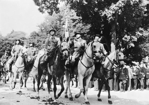 French cavalry during World War II