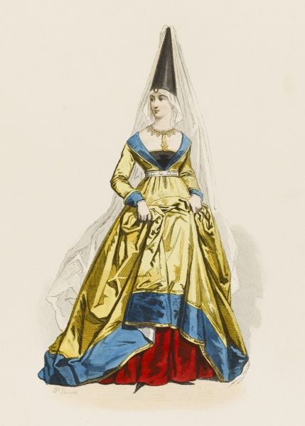 A lady of the French court during the reign of Charles VII