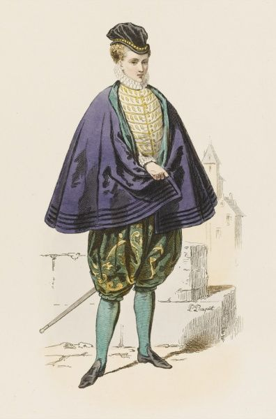 French gentleman at the court of Charles IX