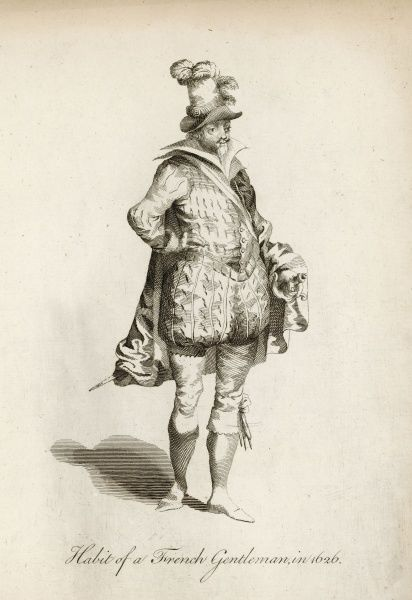 Habit of a French gentleman of 1626