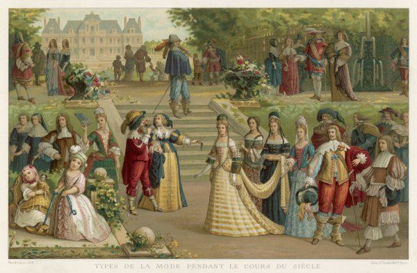 French aristocrats of the mid-17th century