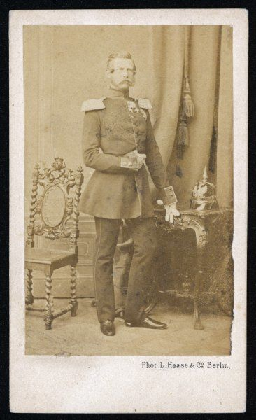 FRIEDRICH III Prussian Emperor (March-June 1888), husband of Victoria, Princess Royal of England, father of Wilhelm II