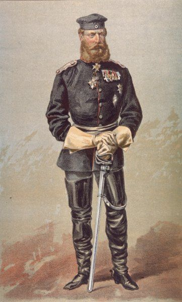 FRIEDRICH WILHELM King and Emperor of Germany (March-June 1888); crown prince of Prussia (1861-88)