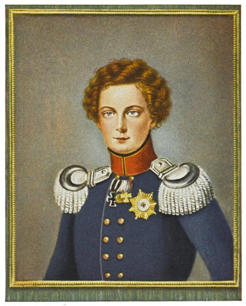 FRIEDRICH WILHELM IV King of Prussia, depicted here as Crown Prince