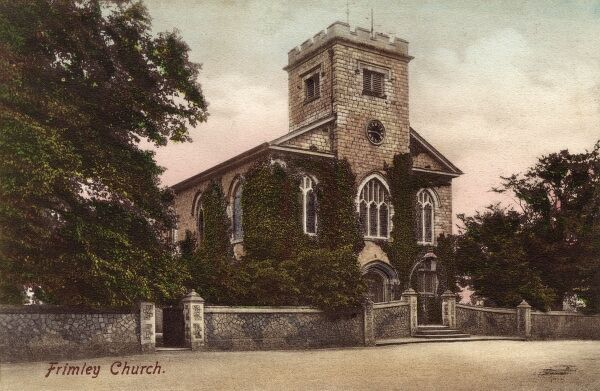 Frimley Church, Surrey Date: circa 1910s