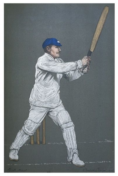 George H Hirst - cricketer for Yorkshire and England and a fine all-rounder