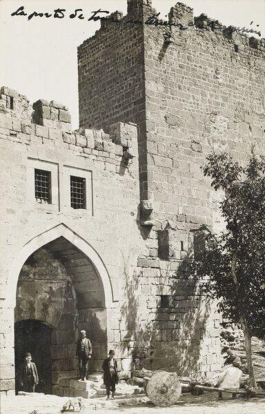 Gate and Tower in the Istanbul City Walls