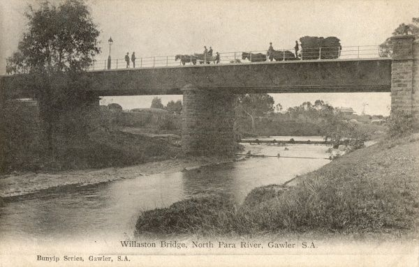 Willaston Bridge, North Para River, Gawler, South Australia