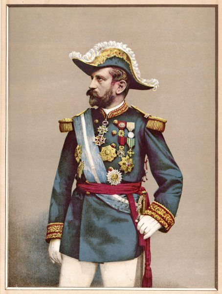 GEORGES-ERNEST-JEAN-MARIE BOULANGER French general and politician in 1889