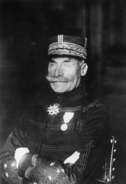 General Dubois of the French Army during the First World War. Date: 1914-1918