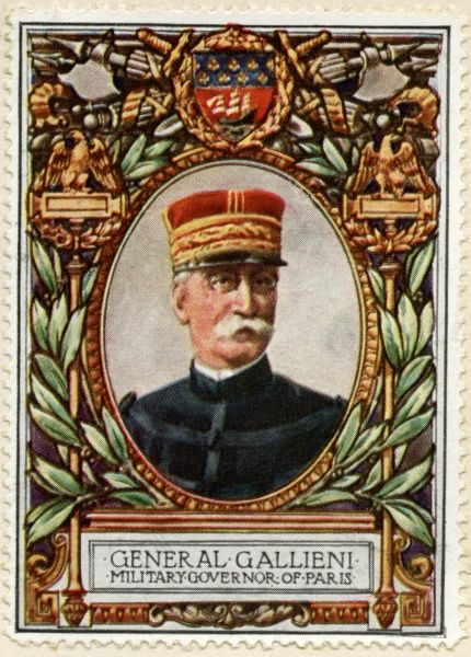 GENERAL JOSEPH GALLIENI (1849-1916) French military commander, politician and Minister of War in 1915-1916