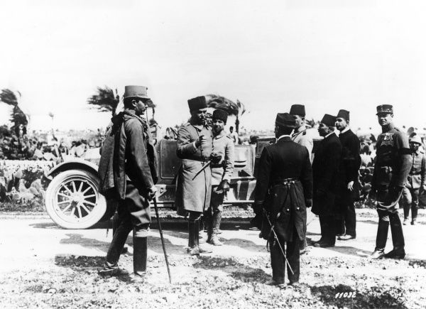 General Liman Von Sanders (1855-1929), German army officer, adviser and military commander for the Ottoman Empire during the First World War, and German Commander in Chief of the Turkish army
