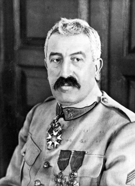 Pierre-Thiebaut-Charles-Maurice Janin (1862-1946), French Army general, commander in chief of the Czechoslovak Army in Siberia during the First World War. Date: circa 1919