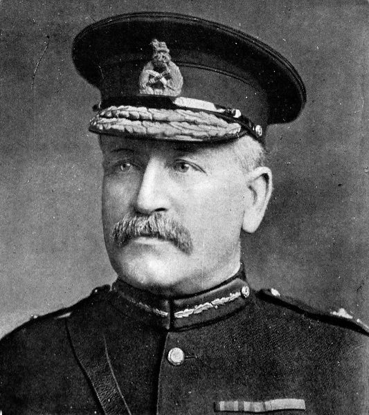 General Charles Carmichael Monro, sent as replacement to Sir Ian Hamilton in the Dardanelles. After a disastrous campaign, Hamilton was recalled to England. Monro recommended immediate withdrawal from the Dardanelles. After Kitcheners agreement