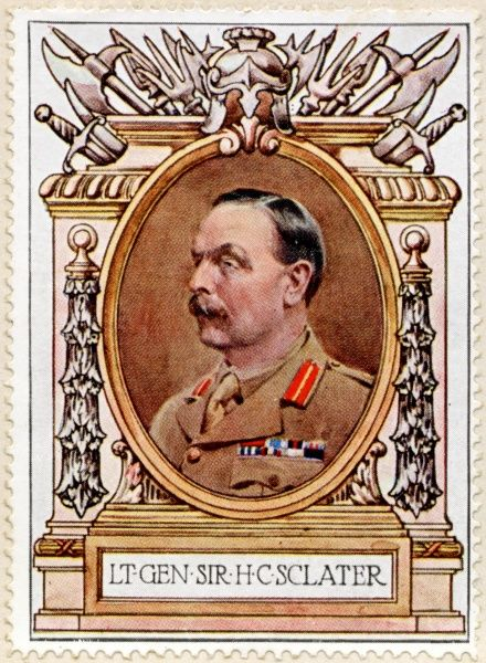 General SIR HENRY CRICHTON SCLATER (1855 - 1923) British Army General during World War I