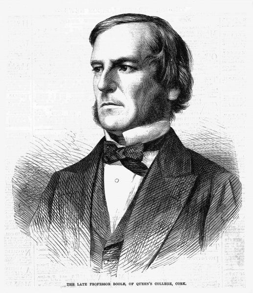 GEORGE BOOLE English mathematician and logician