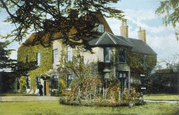 GEORGE ELIOT (MARY ANN EVANS) Home at Griff House, Nuneaton