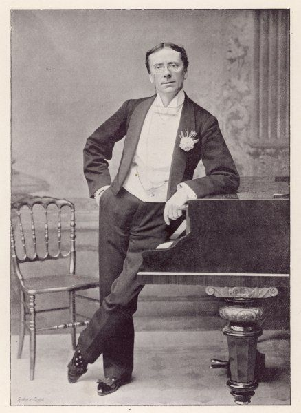 GEORGE GROSSMITH (SNR) English actor, associated with the Gilbert & Sullivan operas