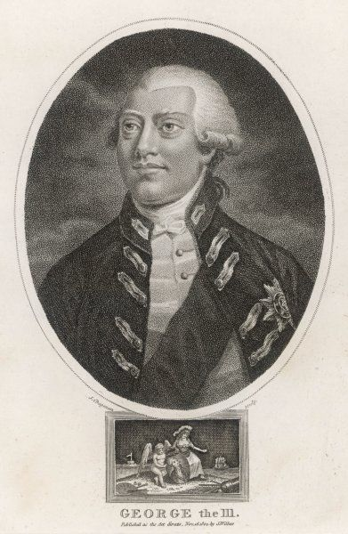 GEORGE III OF ENGLAND Reigned 1760-1820