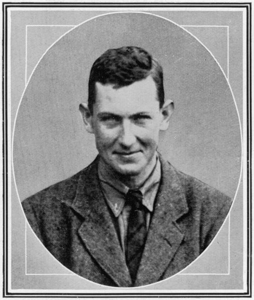 Photographic portrait of George Leigh Mallory, the British climber who took part in three expeditions to Everest in the 1920's, pictured in 1924