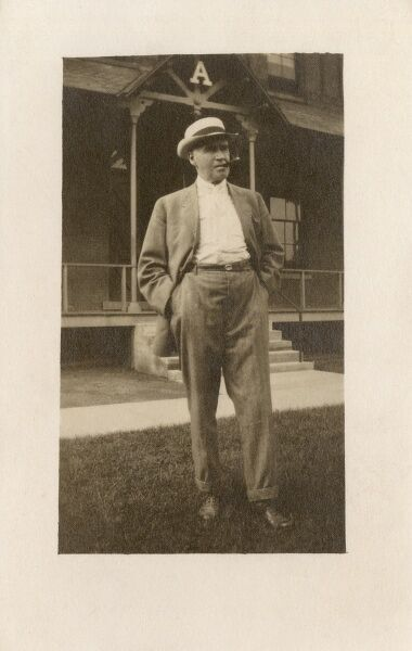 George Lester - Mail Carrier No.1 at The Cortland Post Office, NY, USA. Date: circa 1915