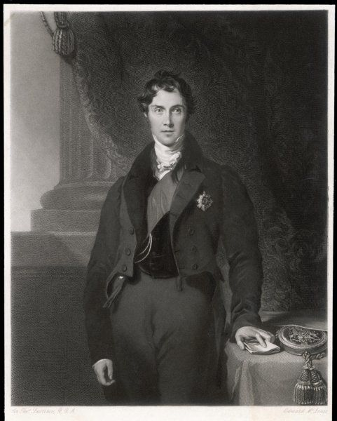 GEORGE GORDON HAMILTON, 4th earl of ABERDEEN statesman, Secretary of State for Foreign Affairs