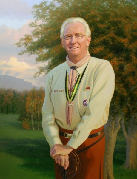 George Purdy, Chief Scout. Date: 2004
