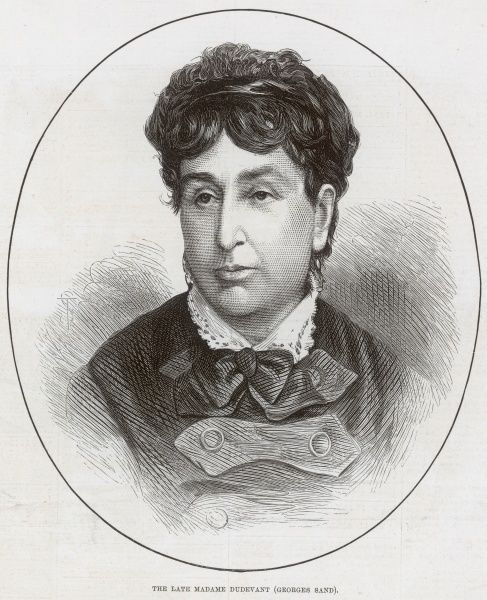 GEORGES SAND alias AURORE DUDEVANT French writer